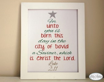 printable christmas bible verses christmas tree printable 8x10 jpg luke 211