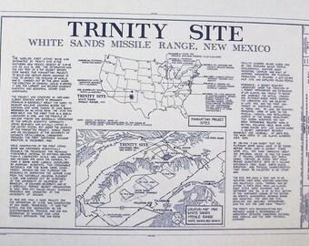White Sands Trinity Site Blueprint