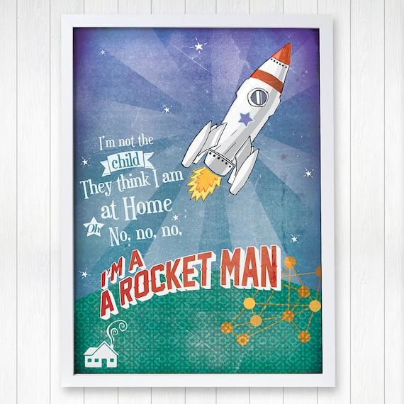 rocket man elton john lyrics meaning