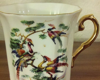 Royal Grafton Bone China Cup - Made in England - Decorated in Canada
