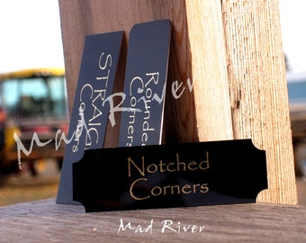 """Personalized Up to 3"""" x 5"""" or 15 Square inches.  Any Size Laser Engraved Name Plates up to 3"""" x 5"""" or 15 Square inches"""
