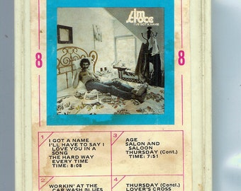 8 Track Tape Jim Croce   I GOT A NAME 1972