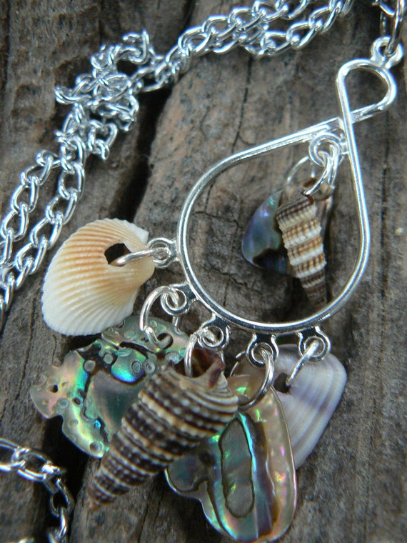 abalone seashell necklace resort wear cruise wear beach and summer gypsy boho hippie style