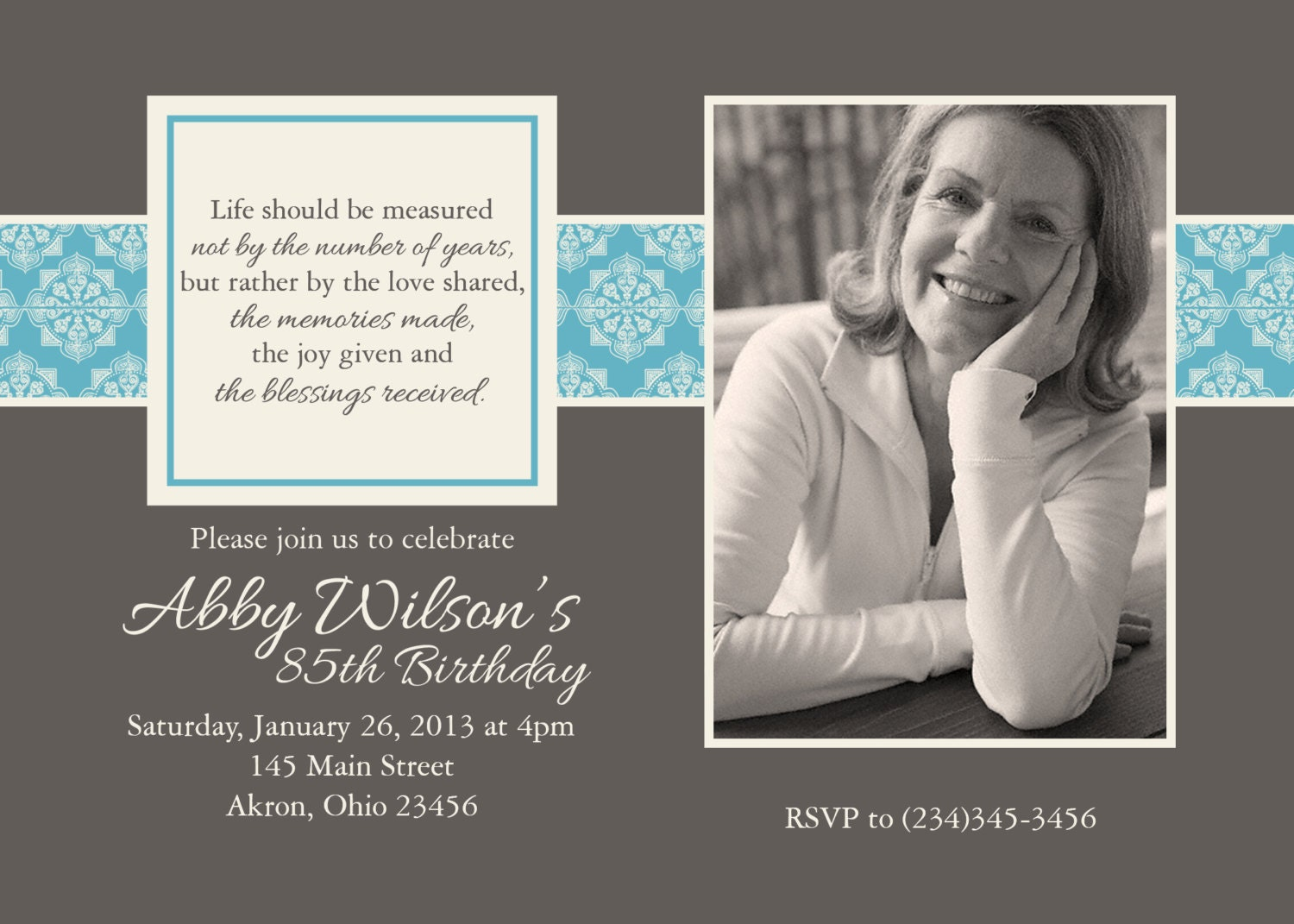 90Th Birthday Invitation is an amazing ideas you had to choose for invitation design
