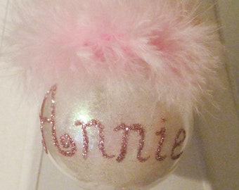 Personalized Custom First Christmas Ornament
