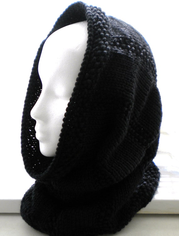 Knit COWL /HOOD PATTERN by PrimrosePatterns on Etsy