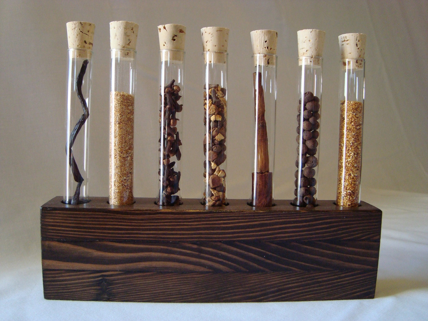 Spice Rack Test Tube Blemish Rack 7 Autumn Spice Blend