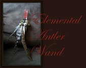 Elemental Antler Wand