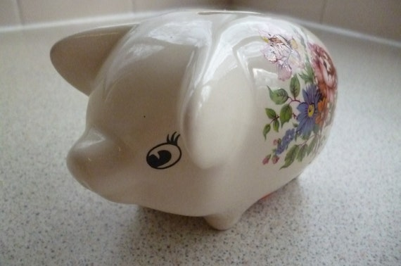 Pig Money Box Piggy Bank Collectables 60's-70's