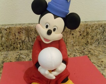 Mickey Mouse Fantasia Cake Topper