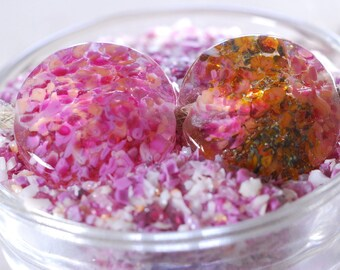 Cherry Fizz - Glass Frit Blend - CoE 92 - 96 (suitable for use on glass COE 90 - 104)  25g