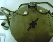 vintage BOY SCOUT CANTEEN with canteen cover