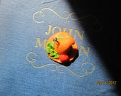 Polymer Clay Elfish Witches Hat for Autumn