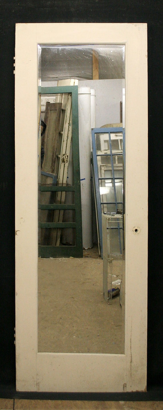 28x79 Antique Interior Birch Wood Door Closet Pantry Large