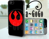 iPhone 4, iPhone 5, Samsung S3, Samsung S4 case Star Wars inspired Rebel Alliance Logo