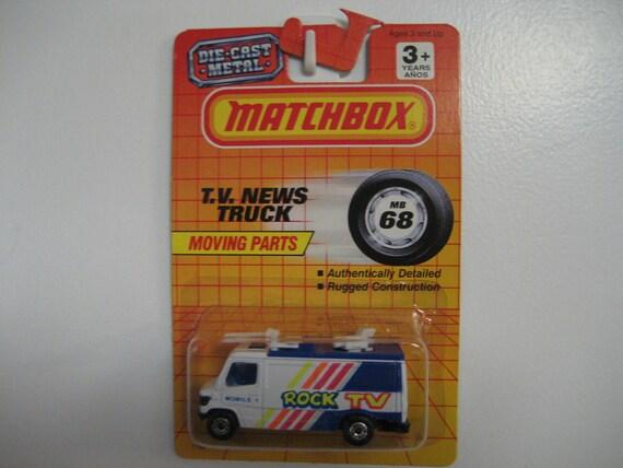 Matchbox TV News Truck