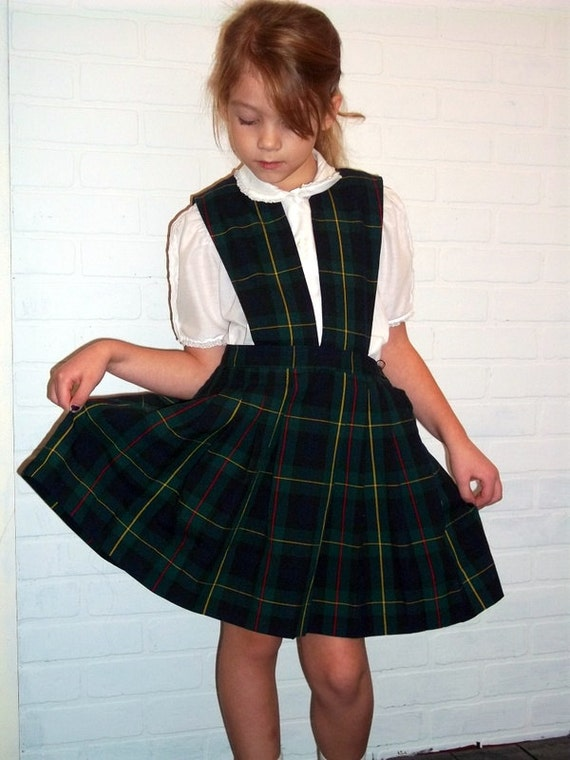 Vintage Schoolbelles Girls School Uniform Size 7