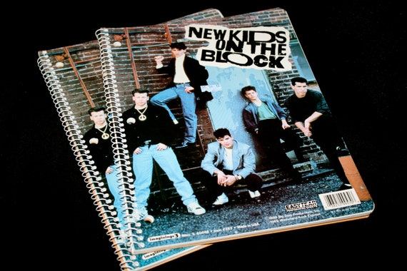 New Kids On The Block Notebooks