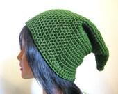 Green Elf Warrior Hat Fantasy Elven Hero Cap