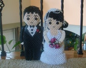 3d Origami Bride and Groom
