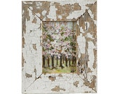 Cherry Blossom Painting, vintage frame (reserved for Talisa)