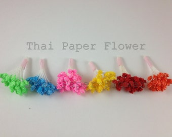 500 Head Stamens Scrapbook Card Making Flower Crafts Supply Candy Color