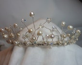 Isabel.  A stunning Tiara for the bride or bridesmaid .Hand made in Great Britain
