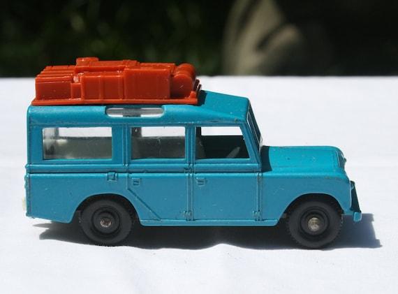 Vintage Matchbox No 12 Land Rover Safari