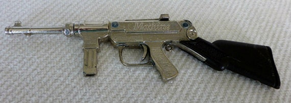 RESERVED FOR TAUNYA11 Machine Cap Gun Toy by Victory 1950's