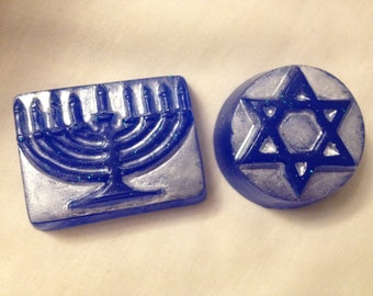 Hanukkah Guest soap by Lavish Handcrafted