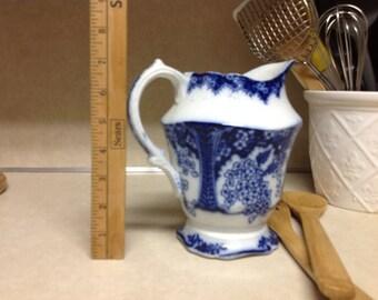 Blue Porcelain Pitcher