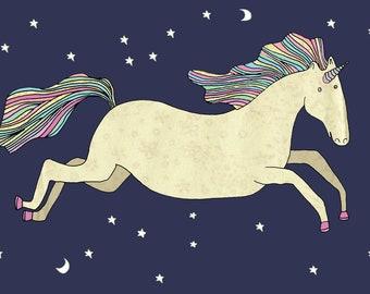 Unicorn Print A4