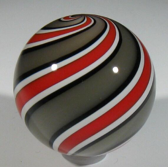 Banded Buckeye Marble
