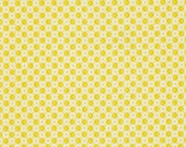 CLEARANCE Denyse Schmidt fabric  Voltage Dot in Lime , 1 yard Chicopee