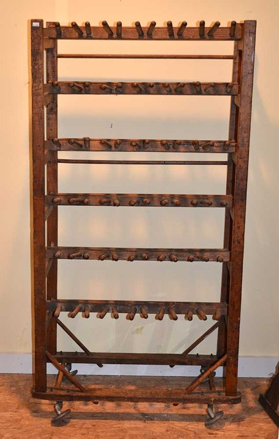 Antique Shoe Drying Rack Maple