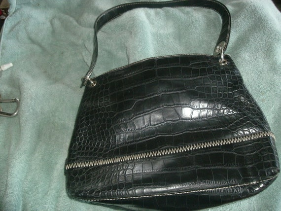 Tommy Hilfiger Black Leather Purse