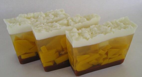 Sale Soap - Apple Butter Pie Glycerin Soap - Clearance Soap Sale