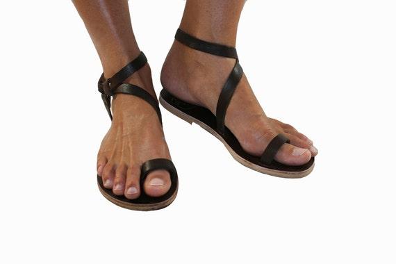 Brown Leather Sandals For Women amp Men Design 3 Handmade