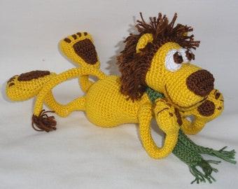 Amigurumi Crochet Pattern - Leon the Lion