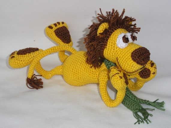 Amigurumilacion : Amigurumi crochet pattern leon the lion english version