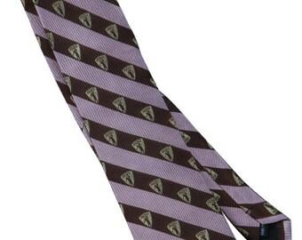 1930 Golf handmade silk tie