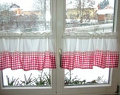 Disc, bistro, short curtains, country-style, 40