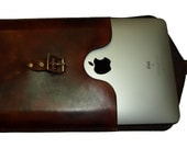 Handmade Leather iPad Case. Available in six different colours. - DecueroLeather