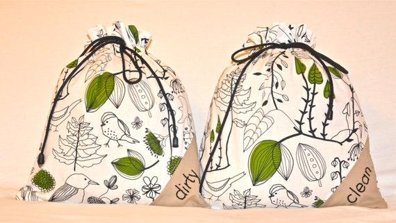 Travel lingerie bags