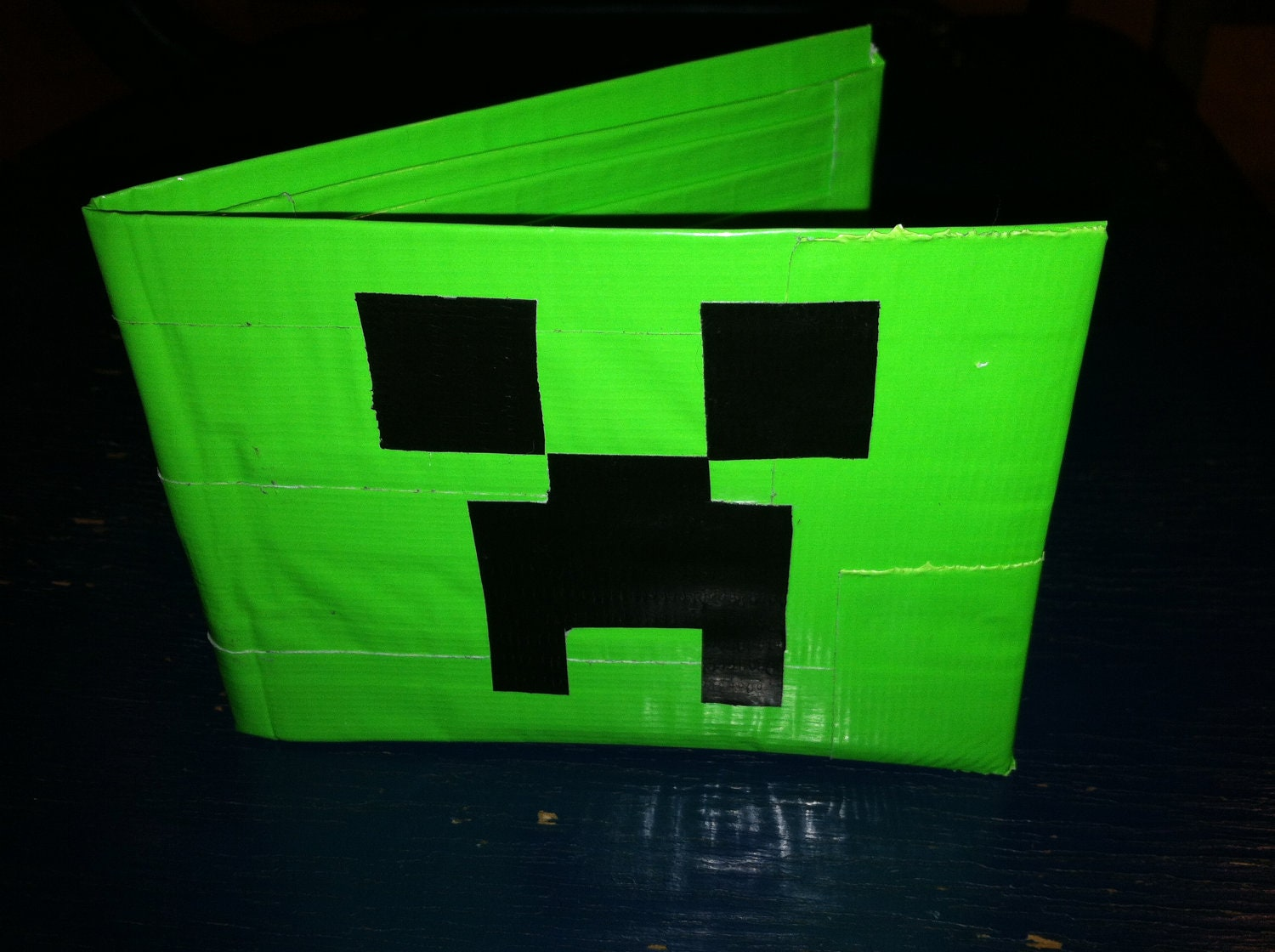 Minecraft Creeper Duct Tape Wallet By Kaseykreates On Etsy