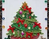 Ultimate Christmas Tree Christmas Blank Card