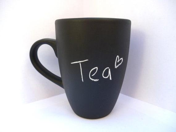 Chalkboard mug -  custom mug - cute gift