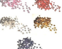 5g STAR Sewing Scrapbooking Sequins |Gold Star Sequins|Silver Star Sequins|Red Star Sequins|Magenta Star Sequins|Blue Star Sequins