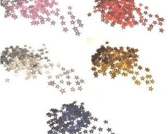 5g STAR Sequins|Sewing Scrapbooking Sequins |Gold Star Sequins|Silver Star Sequins|Red Star Sequins|Magenta Star Sequins|Blue Star Sequins