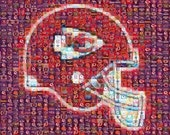 3 Kansas City Chiefs Mosaics plus bonus